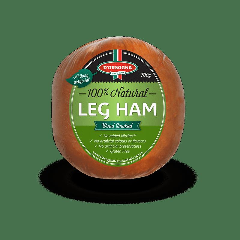 100% Natural Leg Ham 700g