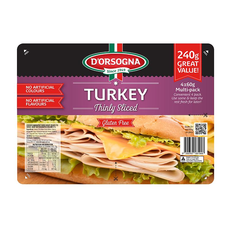 Turkey Quad Pack 240g