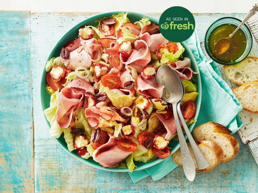 Antipasto Salad With Flame Roasted Ham
