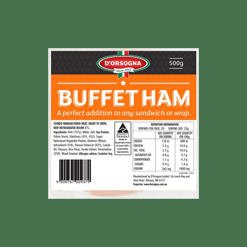 Buffet ham 500g