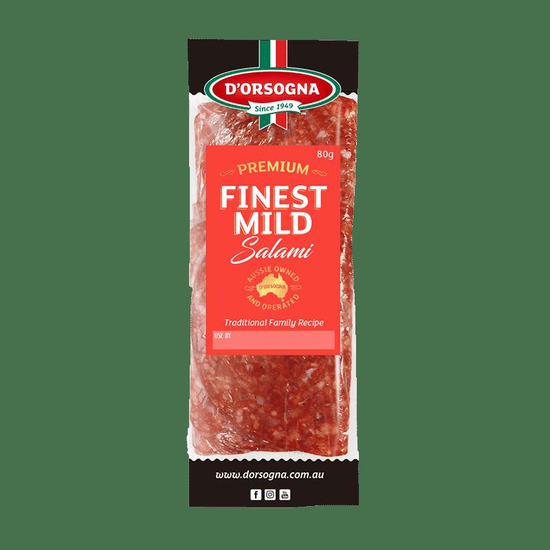 Premium Finest Mild Salami 80g