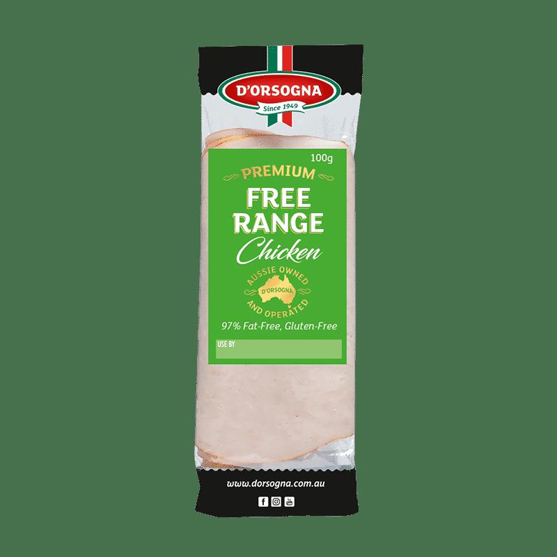 Premium Free Range Chicken 100g