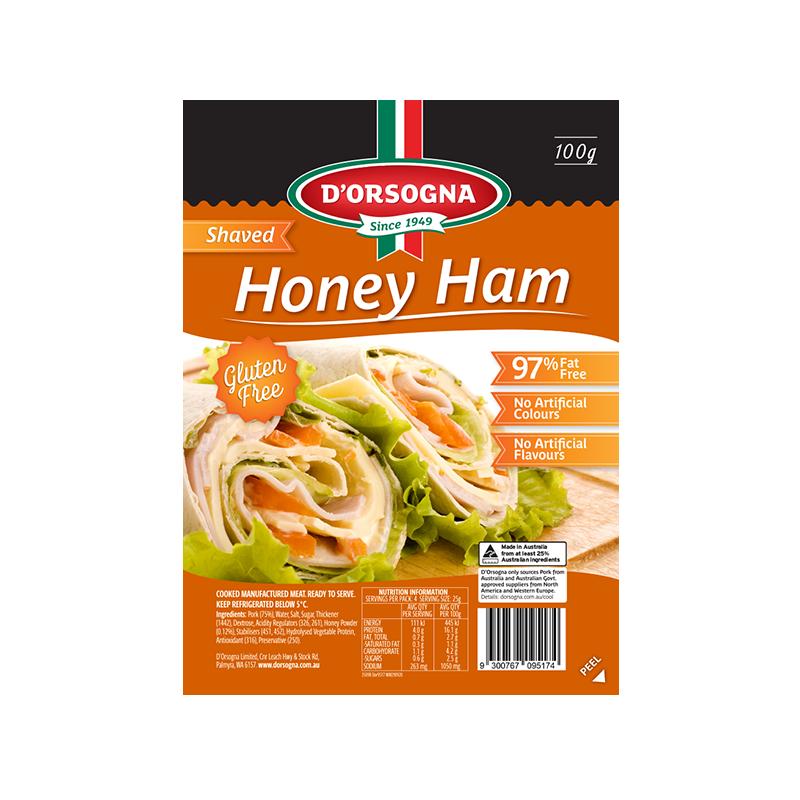 Family Classic Honey Ham shaved 100g
