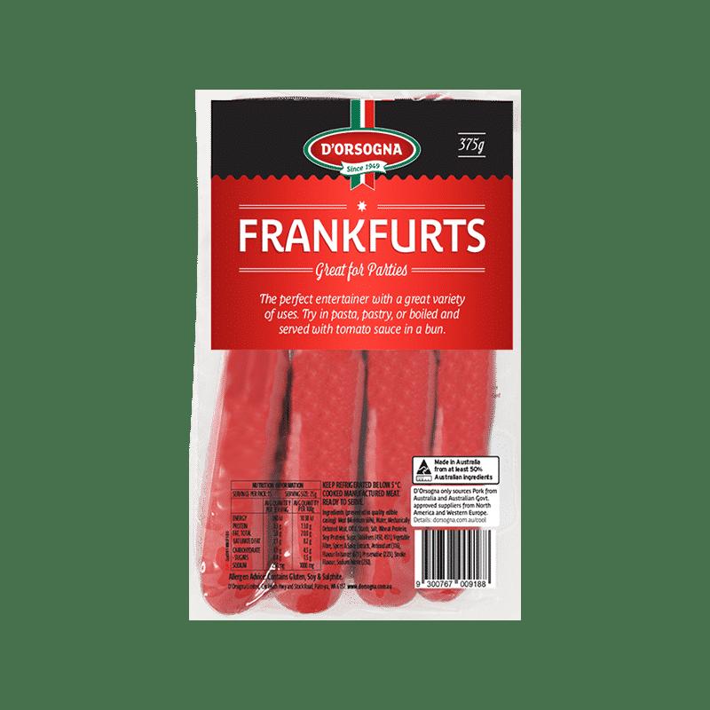 Frankfurts 375g