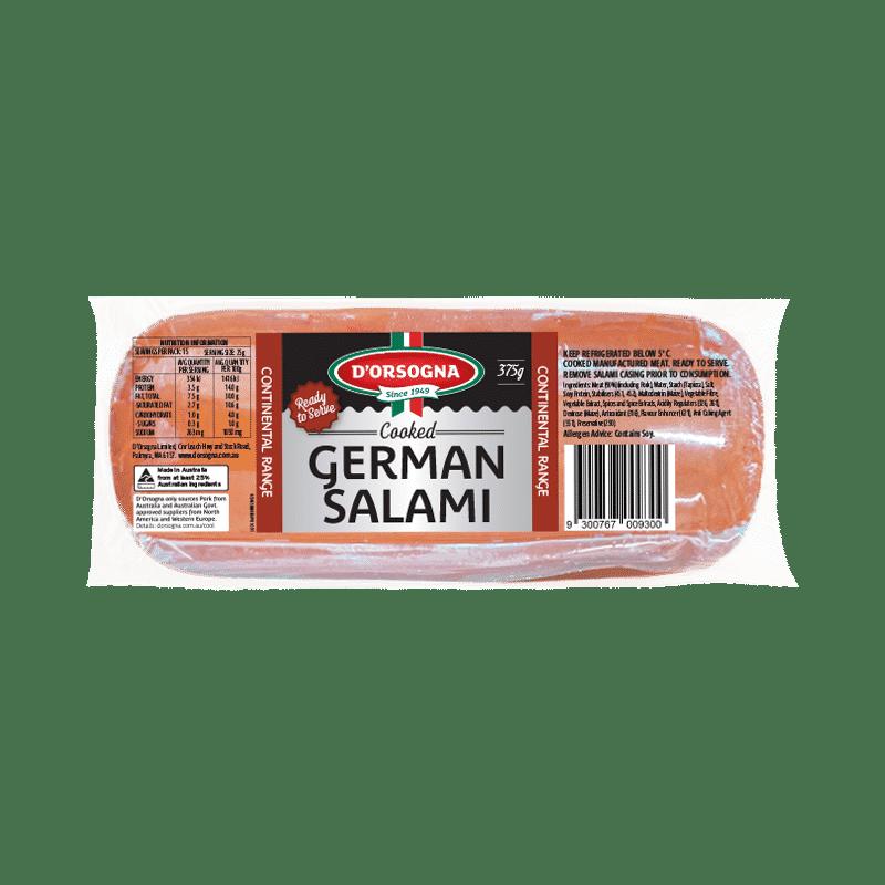 Cooked German Salami 375g