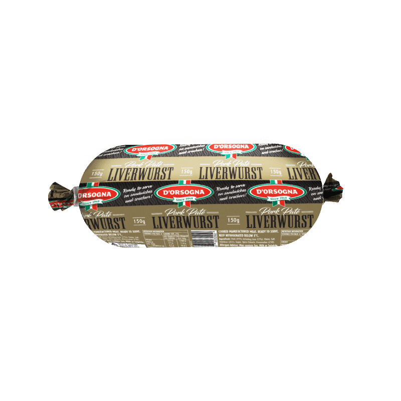 Pork Pate Liverwurst 150g