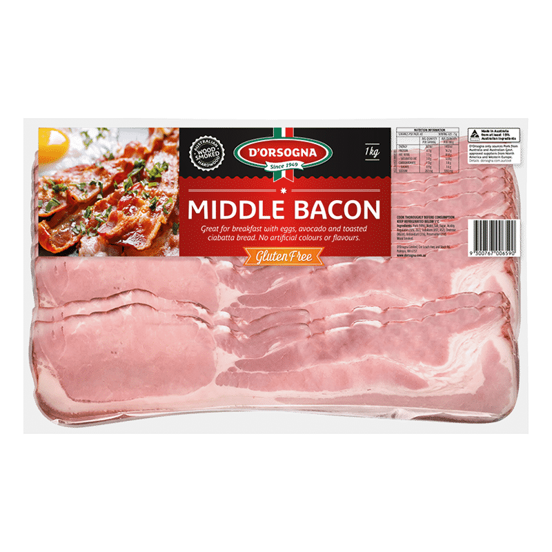 Middle Bacon 1kg