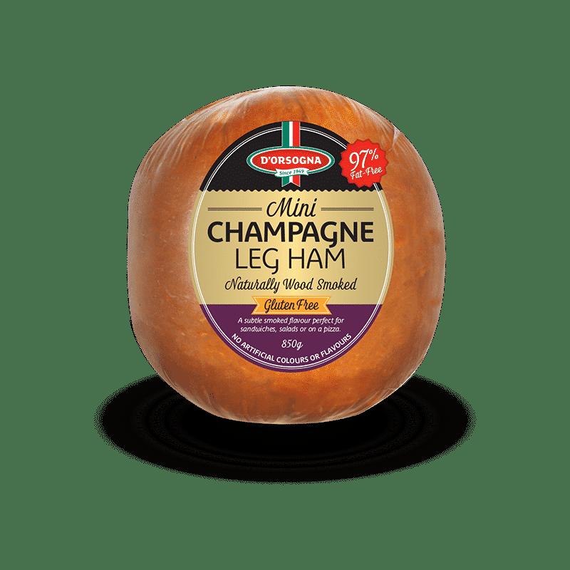 Mini Champagne Leg Ham 850g