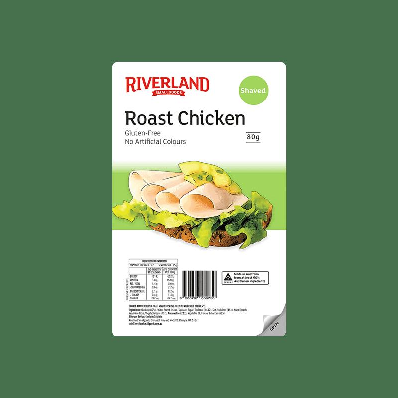 Riverland Roast Chicken 80g