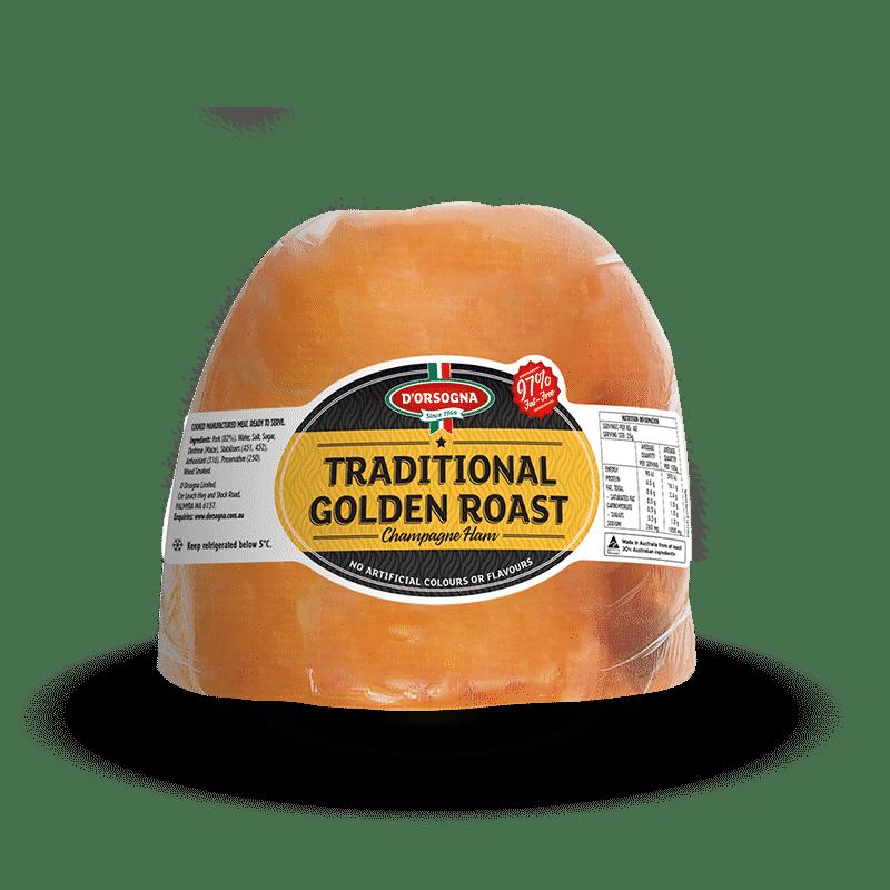 Traditional Golden Roast Champagne Ham