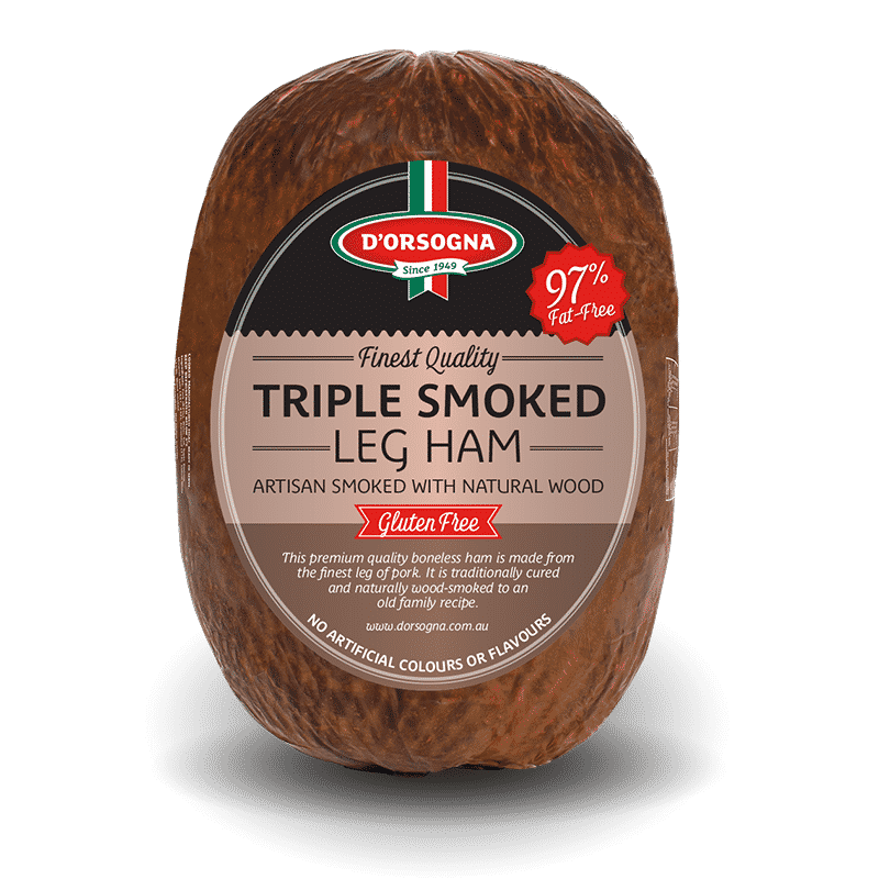 Triple Smoked Leg Ham