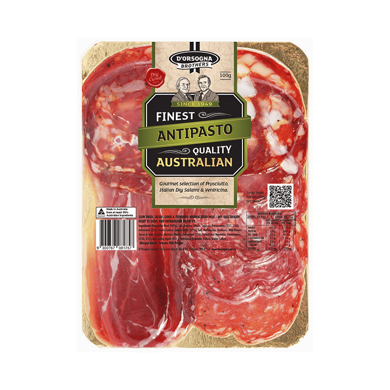 D'Orsogna Brothers Antipasto 100g